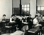 1953 Shorthand Typing Class