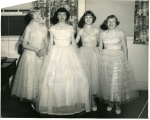 1954 Beauty Review ---------Wanda Dodson, Peggy Miller, Barbara Martin, Joy Park