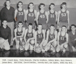 1960 Boys Basketball.